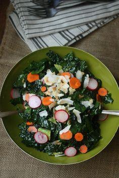 Coconut Kale Salad w