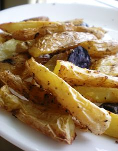 Baked oven fries - 5 points plus