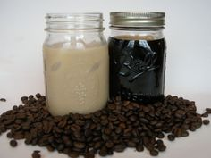 Cold Brew Coffee - making iced coffee drinks at home! Tasty - combine this bulk concentrate recipe with the idea of coffee ice cubes and never have watery iced coffee again!