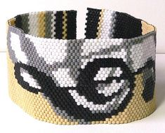 Annotations Peyote beadweaving bracelet pattern