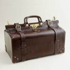 swain adeney, adeney brigg, trunk, travel bags, travel accessories, trumpet, vintage luggage, leather, doctor
