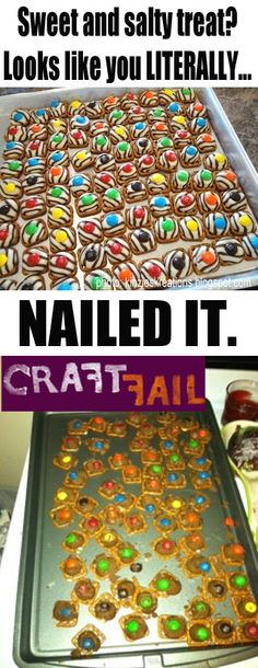 pretzel treat - nailed it