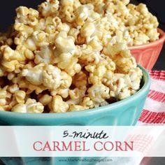 5-minute Carmel Corn
