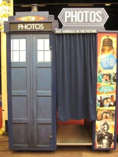 Doctor Who photobooth