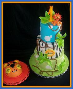 Jungle with smash cake