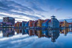 """500px / Photo """"Descending calmness - Reitdiephaven, Groningen, The Netherlands"""" by Bas Meelker"""