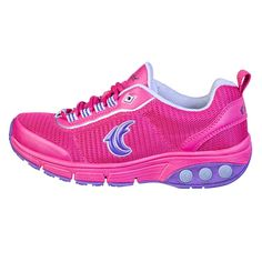 sneaker, comfort shoe, comfortable shoes, therafit shoe, hot pink, deborah