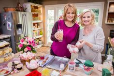 .@Monica Potter shows you how to make #ValentinesDay uniquely #handmade by infusing roses into sugar, jam and scones! #HomeandFamilyTV