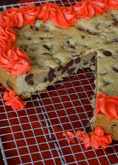 Chocolate Chip Cookie Cake - Life Love and Sugar