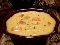 Cheesy Chicken Cauliflower Soup