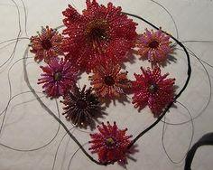 Beading Arts: Beaded flowers - #seed #bead #tutorial