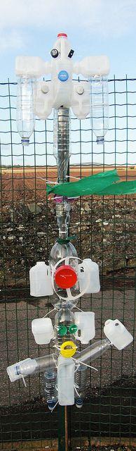 Recycled Totem Poles by maureencrosbie, via Flickr