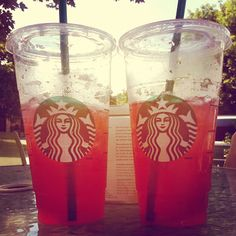New blog post on how to make your own Starbucks style Iced Tazo Passion Tea! #DIY #recipe #summerdrink #blog