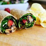 Grilled Chicken & Strawberry Salad Wrap | The Pioneer Woman Cooks | Ree Drummond