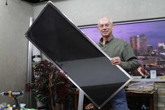 DIY Foil Solar Heater For Windows - A great way to use the sun's energy to heat your home...