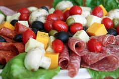 ANTIPASTO PLATTER @Elaine Tricoli's Dish Recipes #appetizer #recipe #antipasto