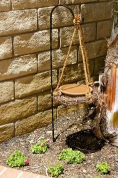 Diy Bird Bath Ideas With Fresh Water To Attract Birds And Everyone's Eye 26