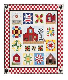 Quilt in a Day American Barns Quilt