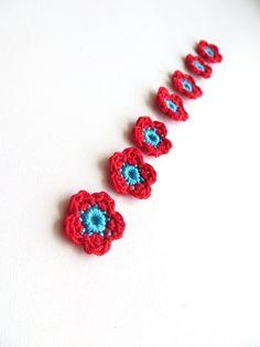 Tiny Flower Appliques
