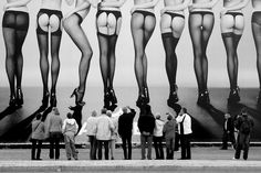 Hey dude, can you give me a hint on what is this ad all about? Butts or stockings? // by Stefano Corso, via 500px
