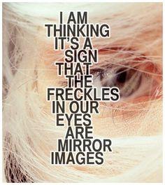 I am thinking...