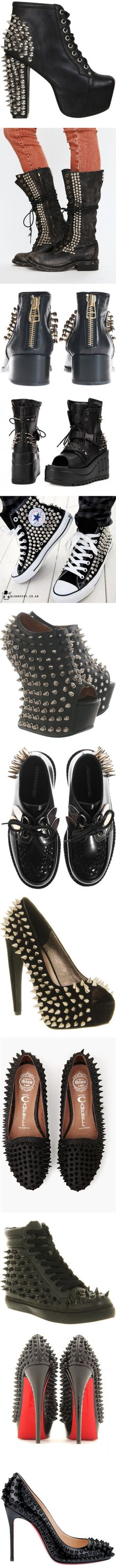 """""""Sharp Shoes in Black"""" by starlaur91 ❤ liked on Polyvore"""