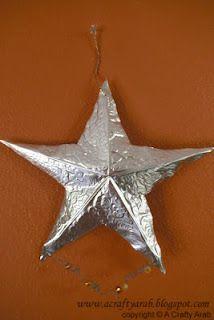 Eid Metallic Star Tutorial