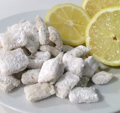 Lemon puppy chow!