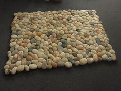 felt carpet supersoft pebbles - felt stone carpet - wool
