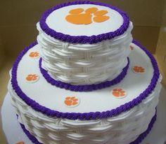 jacki cake, clemson cake, eat cake