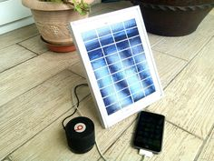Picture of DIY Portable USB Solar Charger ($20 - 4 Ports)