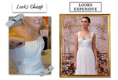 If you wouldn't wear a strapless dress on any other occasion, don't wear one on your wedding.
