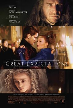 Great Expectations Movie Poster 2 Starring Jeremy Irvine, Holliday Grainger, Ralph Fiennes and Helena Bonham Carter