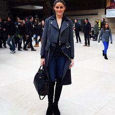 Olivia Palermo #5050 #inourshoes #alittleobsessedwithshoes