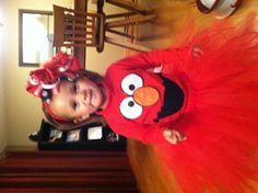 Girls Elmo Costume...So cute!