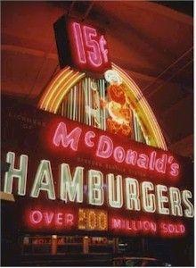 Vintage McDonalds sign