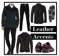 Fall 2012 Men's Trend: Leather Accent