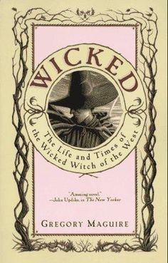 The real story of Elphaba the witch of OZ. LOVE,LOVE,LOVED the musical...now to read the book!