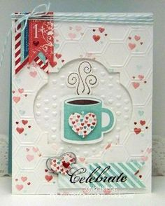 by Sylvia Nelson, Sylvia's Stamp Corner  I love this idea for using this mug year round! cm