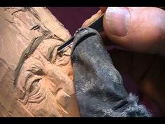 woodcarving ideas, woodcarv eye