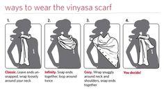 fashion, lululemon vinyasa scarf, style inspir, pretti scarv, cloth, style accessori, scarves, lululemon scarf, scarf stuff