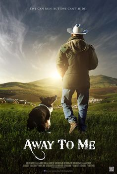 """Great movie!  """"Away to Me"""" is awesome and I highly recommend it!  Find it on Amazon :o) #herding #border #collie  Read my review at www.thetakepen.wordpress.com border colli, movi, dog"""
