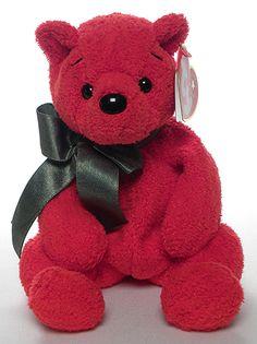 Mistletoe - Christmas Bear - Ty Beanie Babies