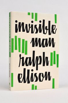 Ralph Ellison cover #grafica #cover #lettering