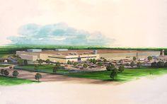 Necco factory in Revere, MA.