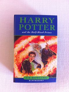book clutch - Harry Potter and the Half-Blood Prince.