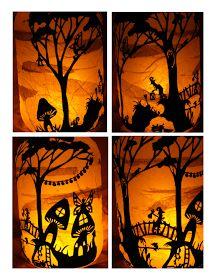 Wisp of Whimsy: ::Woodland Fairies Lantern::