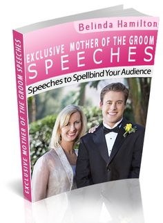 good ebook on mother of the groom speeches