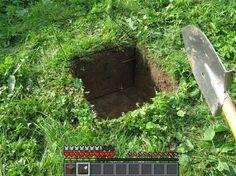 real-life minecraft