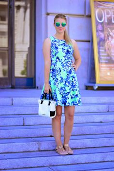 Florals pt. 4  // 51 Cute Work Outfits to Wear This Summer